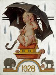 New Year's Baby, Saturday Evening Post Cover
