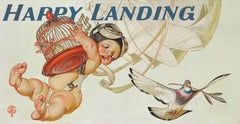 Happy Landing, Amoco Advertisement