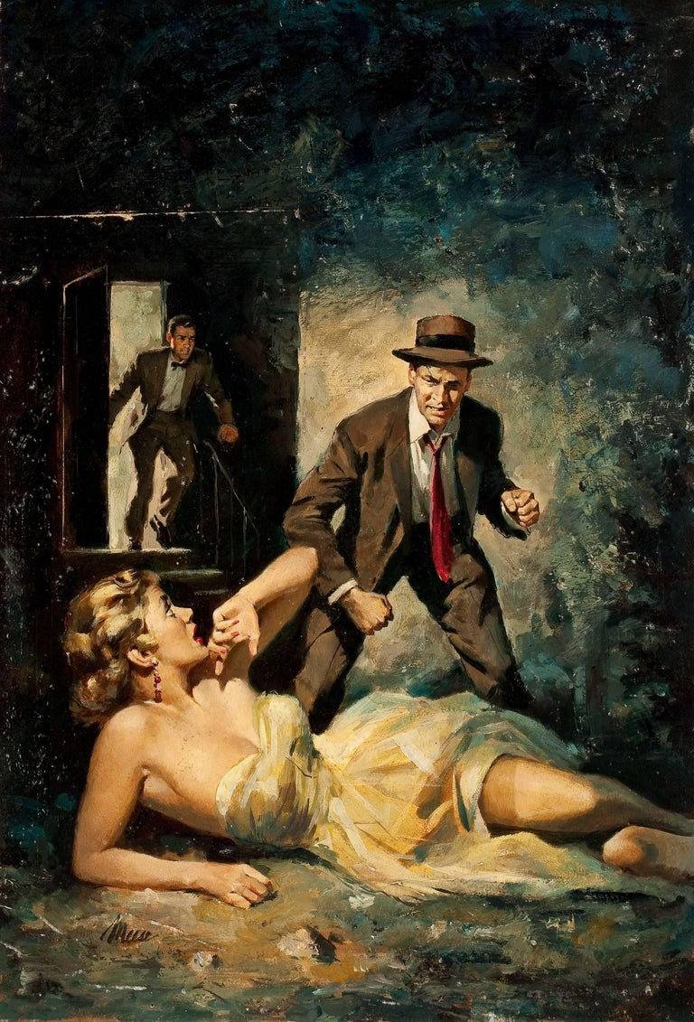 James Meese Figurative Painting - The Savior, Paperback Cover