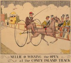 Nellie O Winning the Open at the Coney Island Track