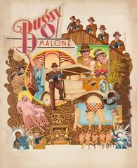 Bugsy Malone, Movie Poster Illustration