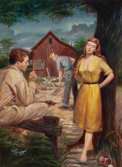 Backwoods Hussy, Paperback Cover