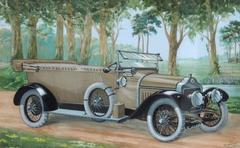 Minerve, Four Seater Touring Car