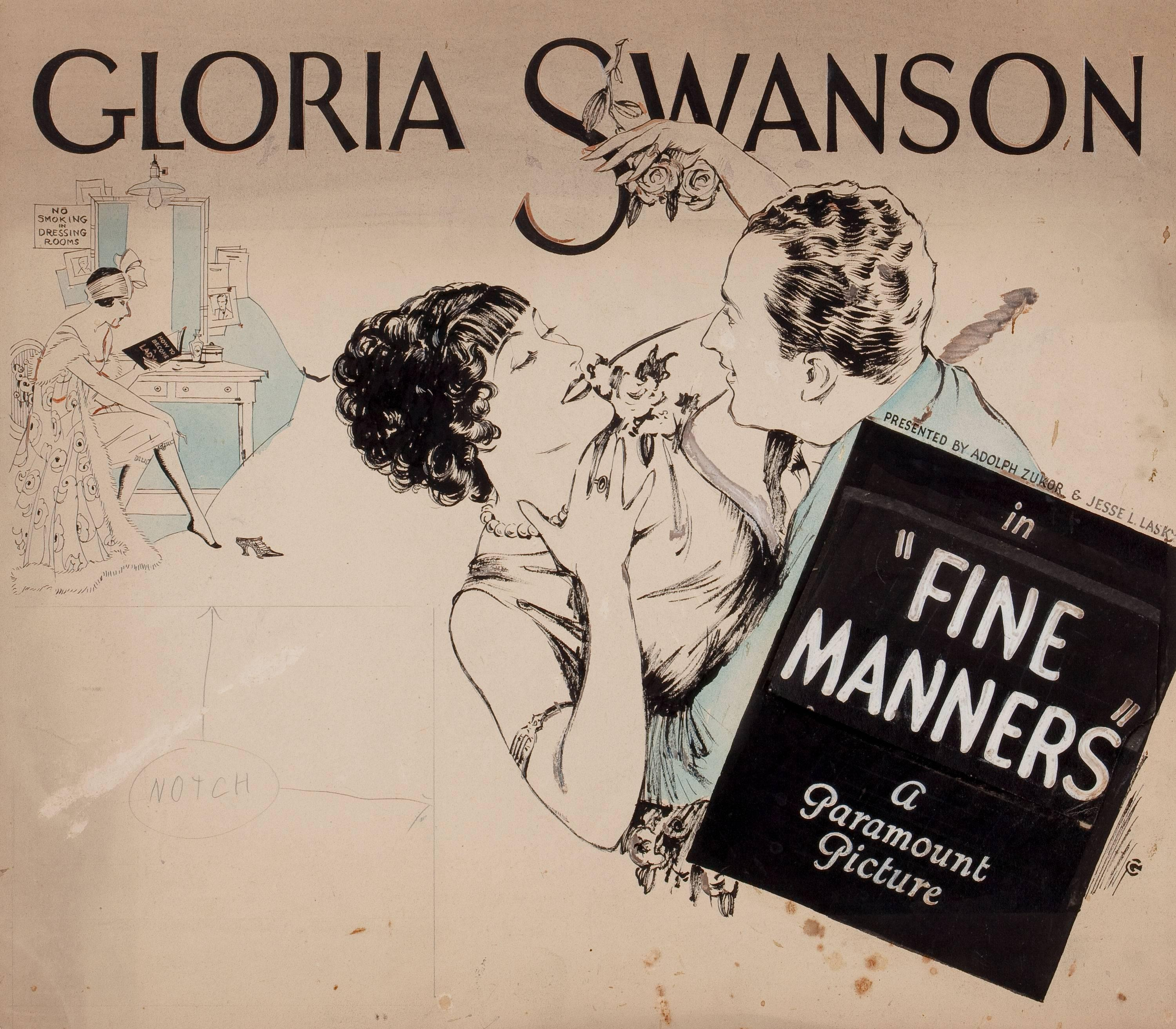 """""""Fine Manners"""" Movie Poster"""