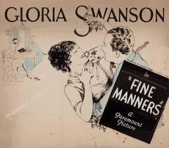 """Fine Manners"" Movie Poster"