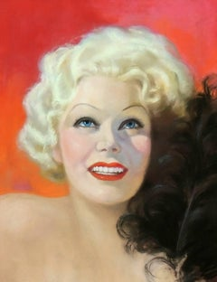 Jean Harlow, Picture Play Magazine Cover Illustration