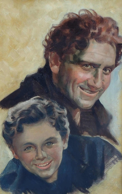 Spencer Tracy & Freddy Batholomew, Movie Poster