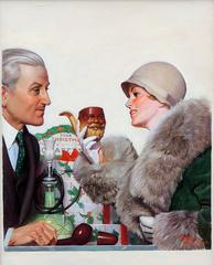 Liberty Magazine Cover, December 17, 1927