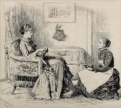 Women Discussing Shoes