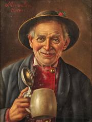 Man with Beer Stein