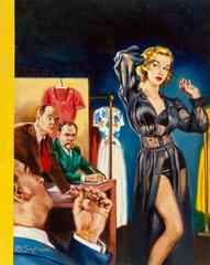 The Indiscretions of a French Model, Paperback Cover