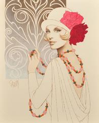 Rose Hatted Women