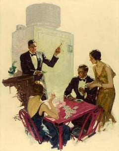 Now a 3, General Electric All-Steel Refrigerator Ad Illustration