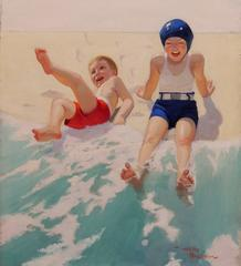 'Water Babies' Liberty Magazine Cover