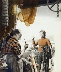 Scoop Boat, Saturday Evening Post Illustration