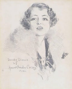 Portrait of Broadway star Dorothy Dionne