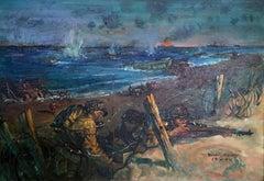 Landing at Normandy Beach