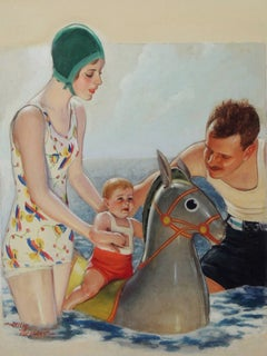 'Ride Him Cowboy' Liberty Magazine Cover