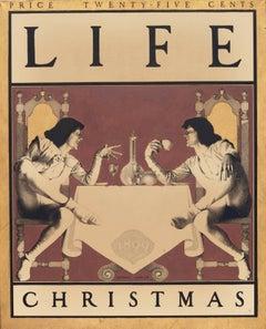 Christmas Cover Design for Life Magazine