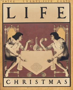 Christmas Cover Design for Life Magazine
