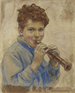 Boy with Clarinet, Cover for Children Magazine, 1927