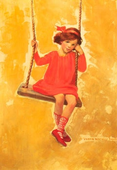 Girl on Swing, Good Housekeeping Magazine Cover