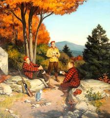 Three Men Hunting