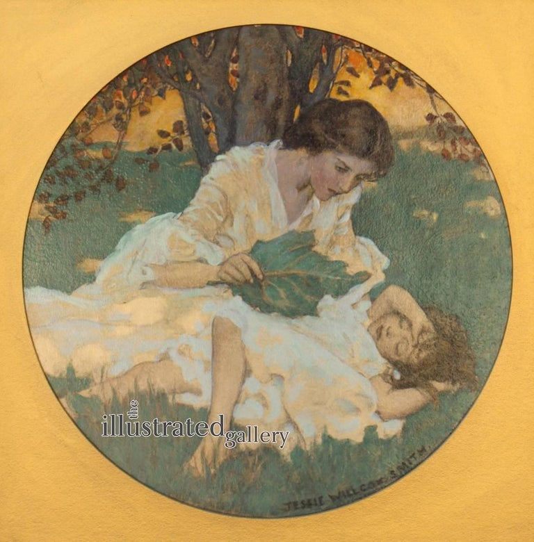 Woman with Child, Collier's Magazine Cover