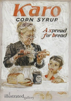 A Spread for Bread, Karo Corn Syrup Advertisement