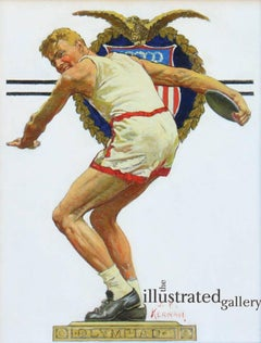 Olympiad Discus Thrower