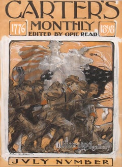 The Soldiers' Charge, Carter's Monthly Magazine Cover