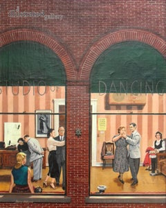 Dancing Class, Saturday Evening Post Cover