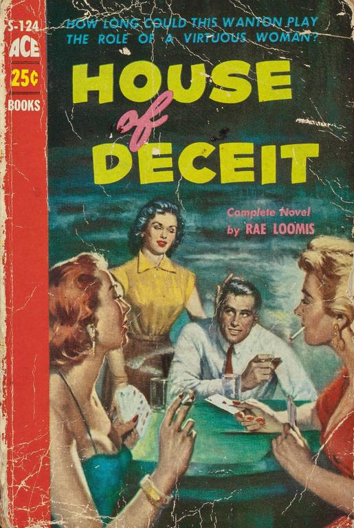 House of Deceit, paperback cover 3