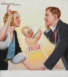 New Years Baby, Liberty Magazine Cover