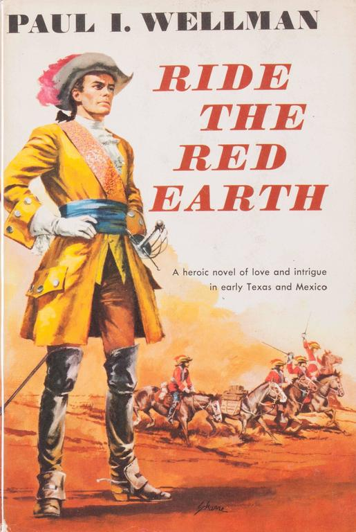 Book Cover Illustrations For Sale : Harry schaare ride the red earth book cover