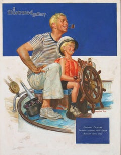 Saturday Evening Post Cover, August 30, 1941