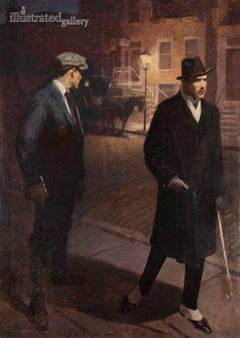 Two men on the Street