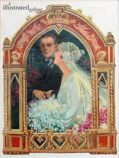 June Bridal Couple, Saturday Evening Post Cover