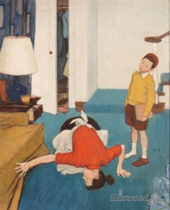 The Lost Shoe, Saturday Evening Post Cover