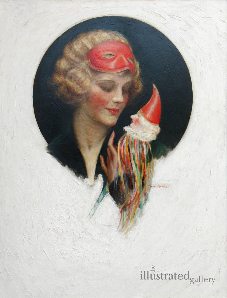 Lady with Puppet