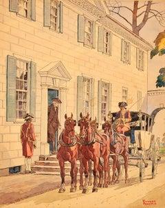 Washington at Mount Vernon