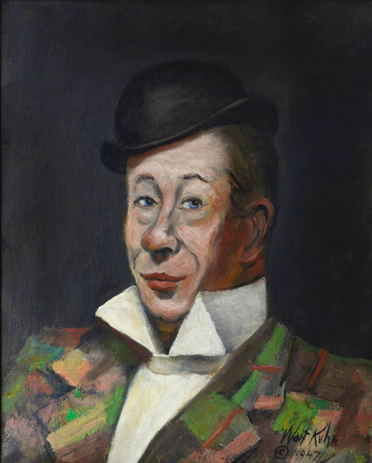 Portrait of Bert Lahr