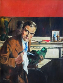 The Complete Detective Cover, Pulp Magazine