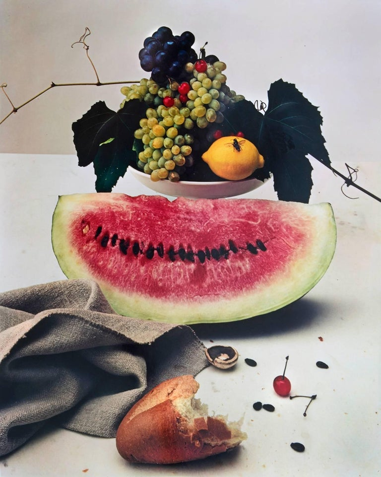 Irving Penn Still-Life Photograph - Still life with Watermelon, NY
