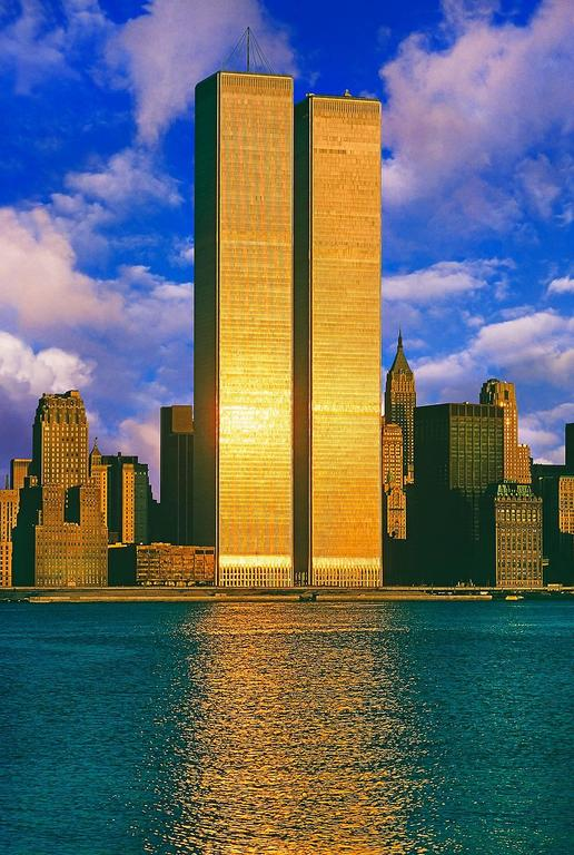 Mitchell Funk Twin Towers World Trade Center