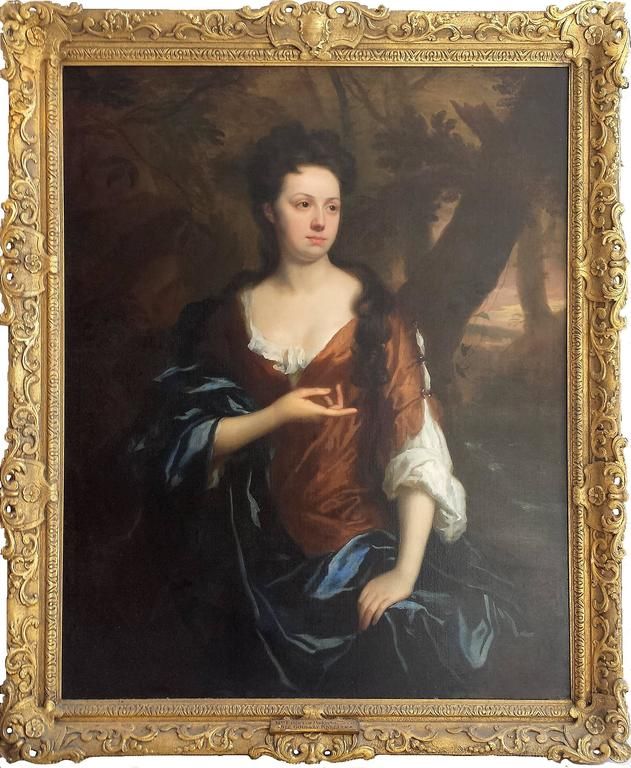 Portrait of Mrs. Fisher of Packerton, Warwick