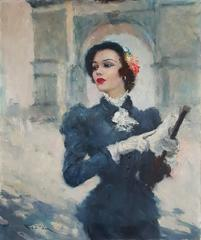 Elegant French Woman