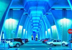 Miami Causeway in Blue