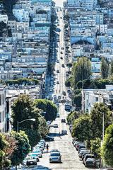 View of Russian Hill, San Francisco