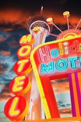 Neon at Las Vegas Motel